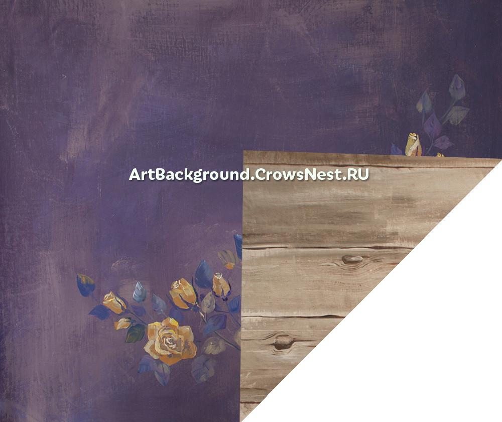 """Double sided backdrop """"fresco / art boards"""""""