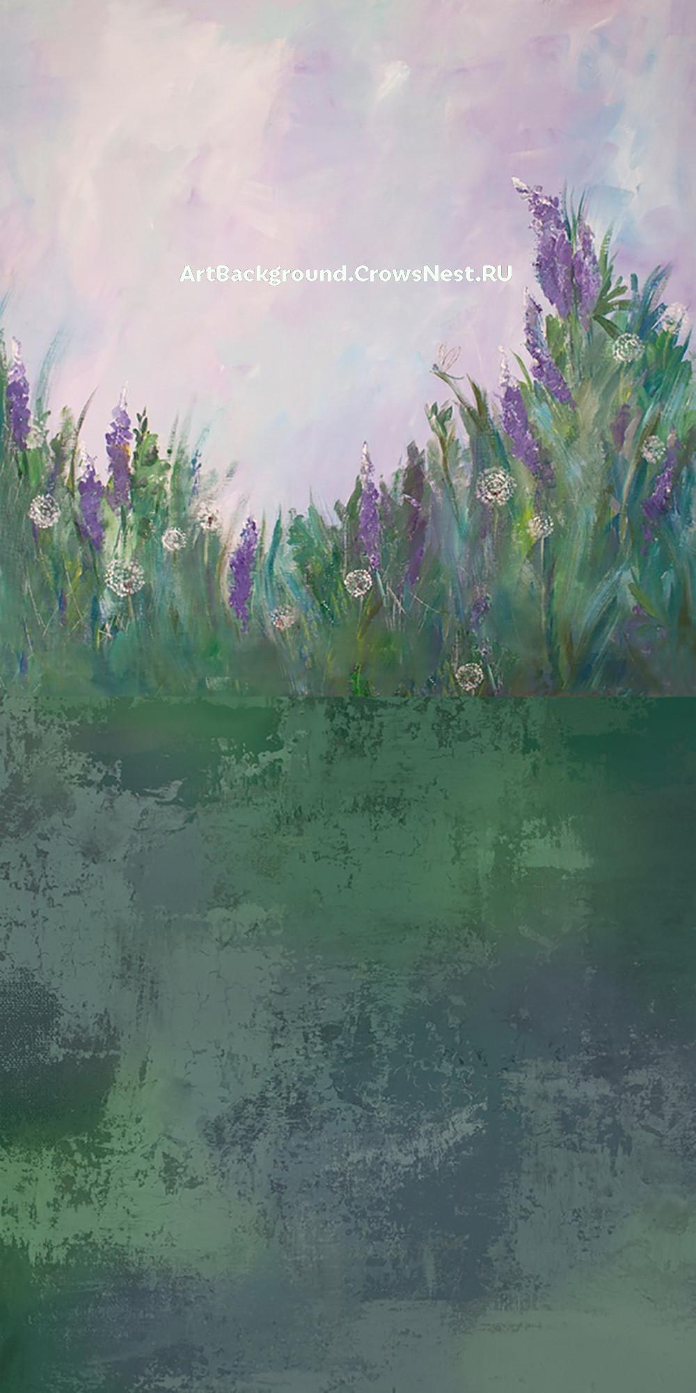 "Combined backdrop ""Irises"""