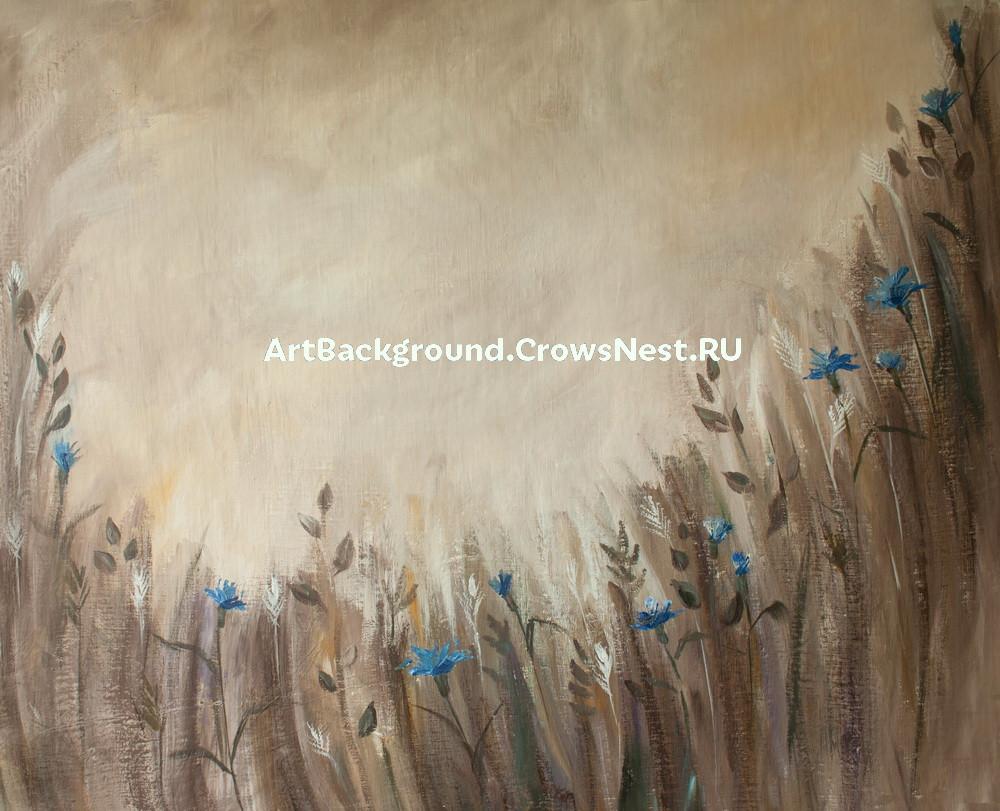 """Backdrop """"Cornflowers field"""""""