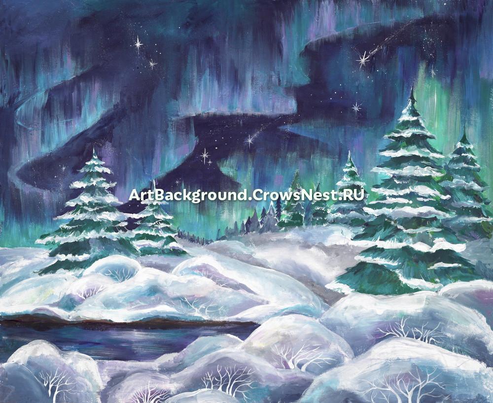 "Backdrop ""Northern Lights"""
