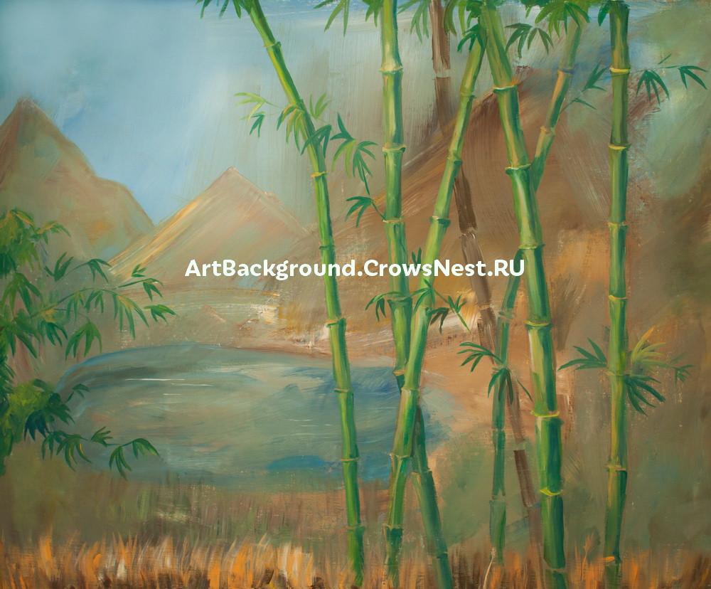 "Backdrop ""Bamboo"""