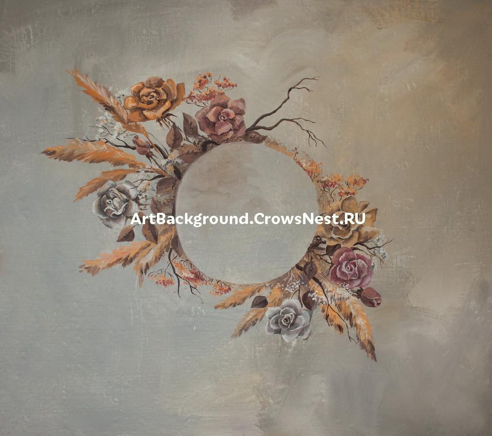 """Backdrop """"Shabby roses"""""""