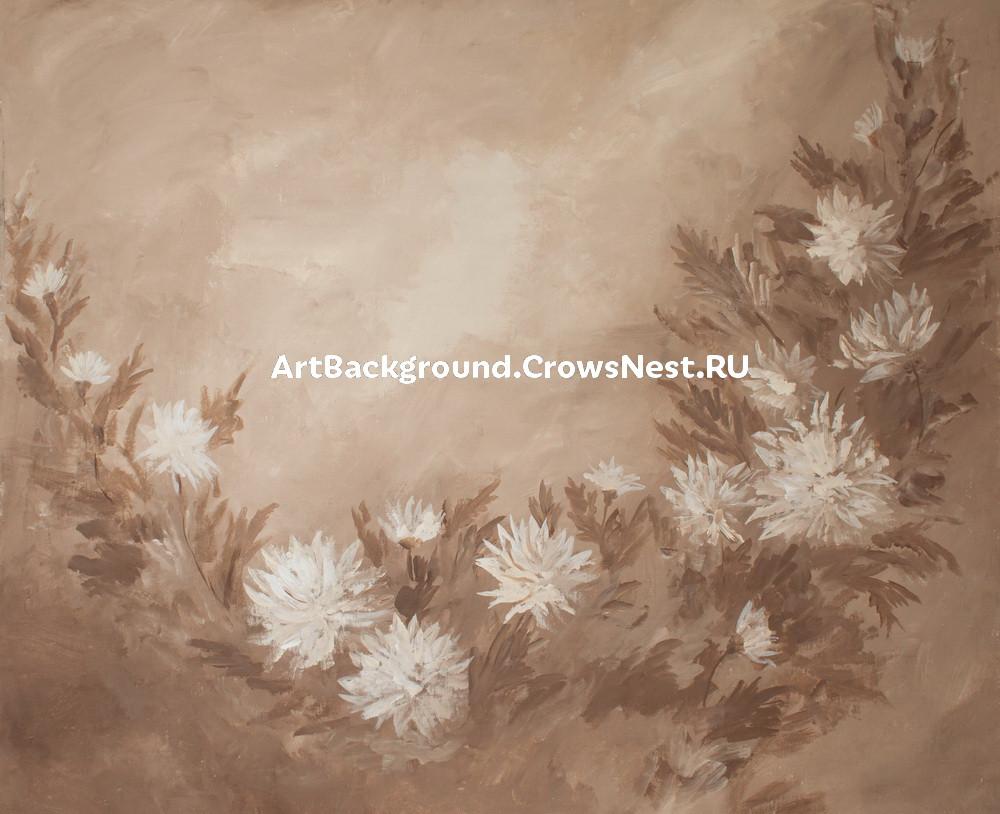 "Backdrop ""Chrysanthemums"""