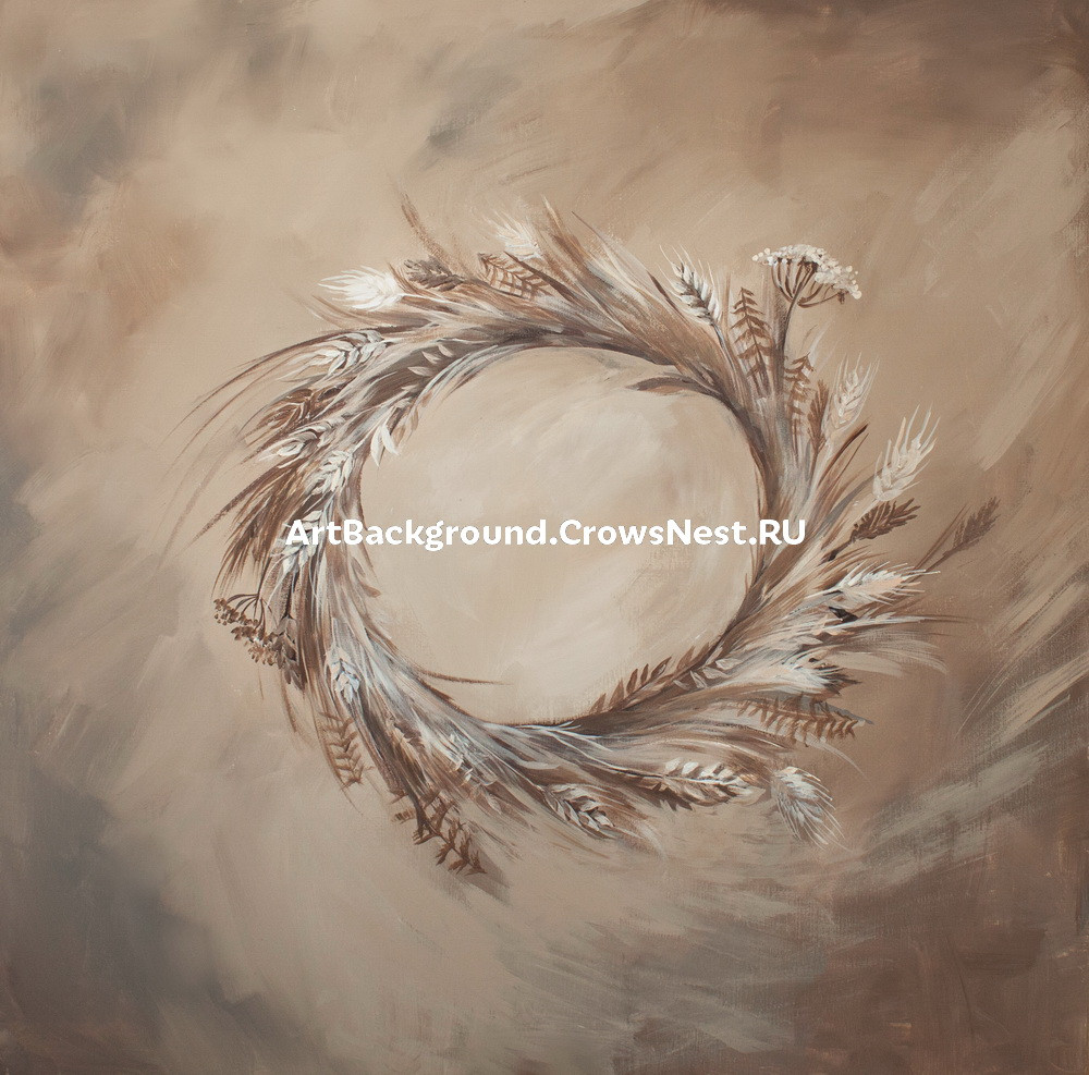 """Backdrop """"A wreath of spikelets"""""""