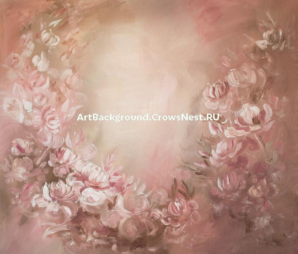 """Backdrop """"Pink dreams"""" (warm)"""
