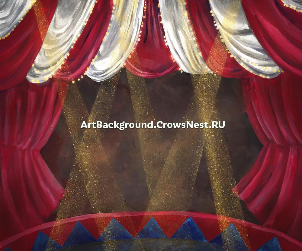 """Backdrop """"Circus"""""""
