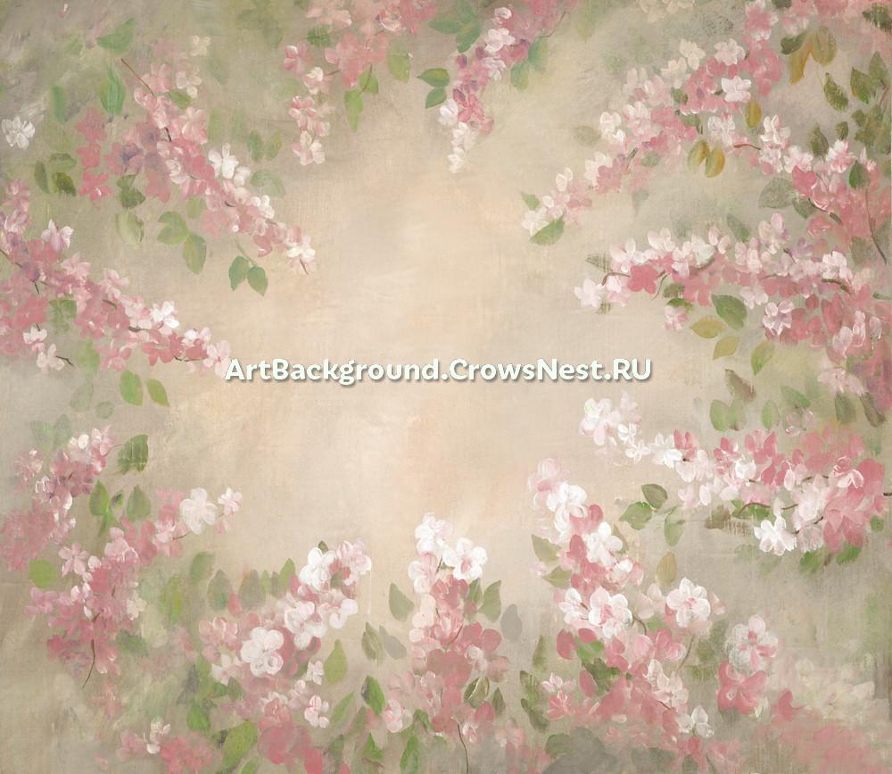 """Backdrop """"warm bloom"""""""