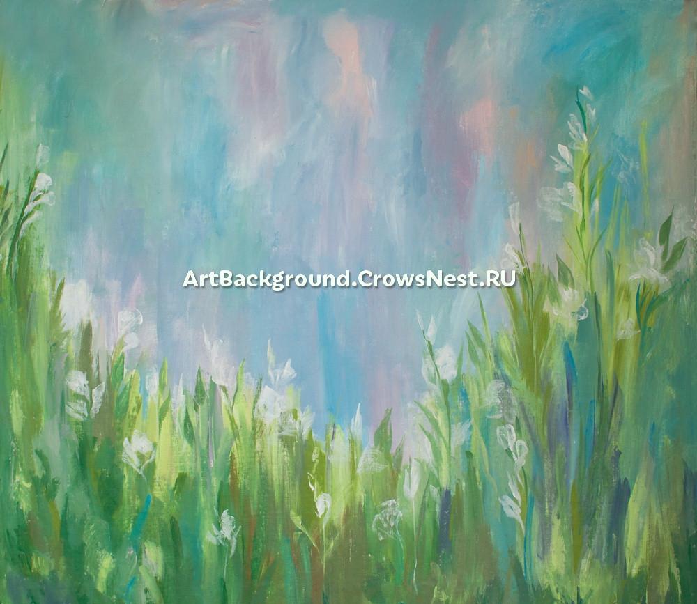"""Backdrop """"breath of spring"""""""
