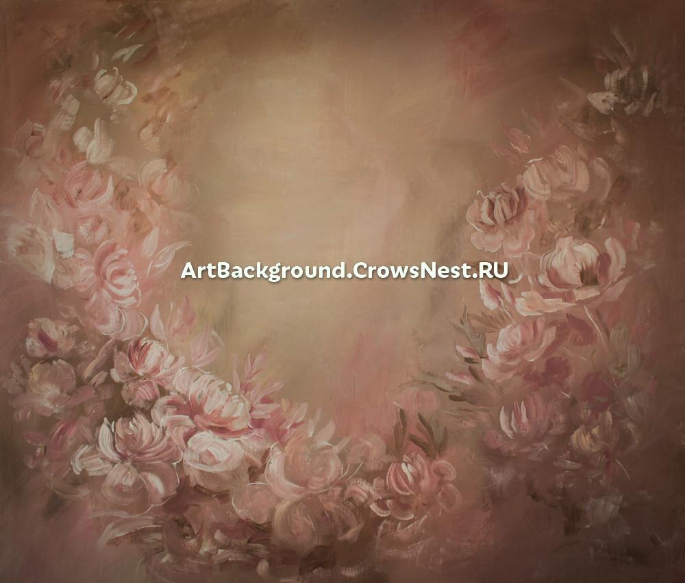 """Backdrop """"Pink dreams"""" (dark)"""