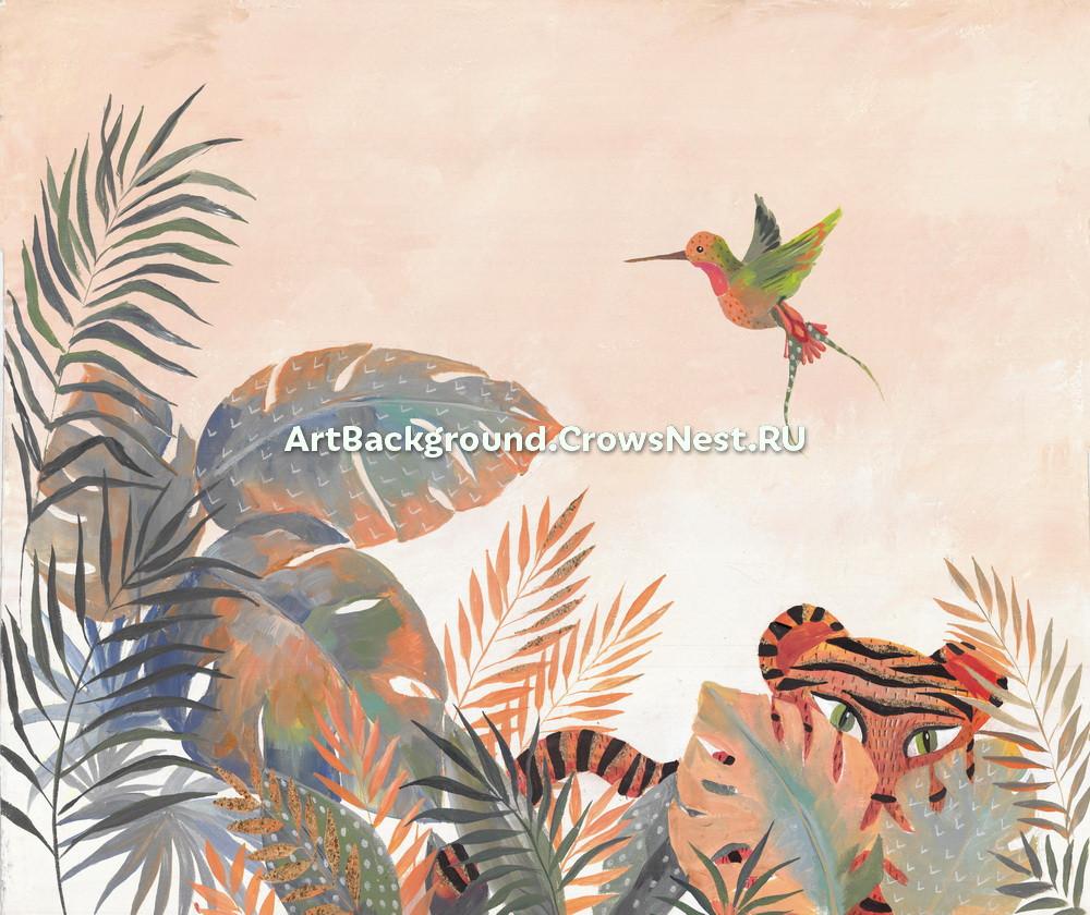 """Backdrop """"Jungle (tiger)"""""""